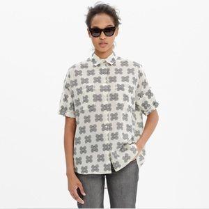 Madewell Courier Clover Shirt Cotton Oversized